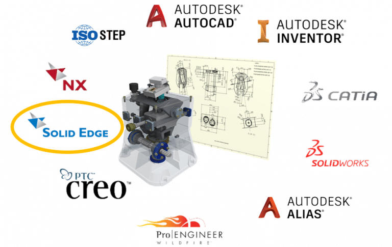 AnyCAD para SolidEdge