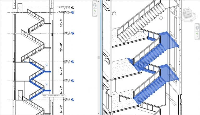 Escaleras Revit 2018