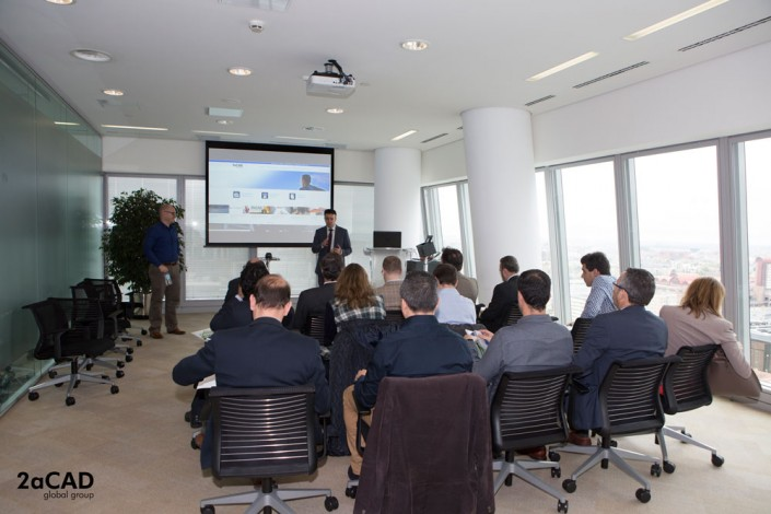 Evento BIM Madrid 2aCAD y Autodesk