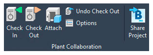 Collaboration for Plant 3D