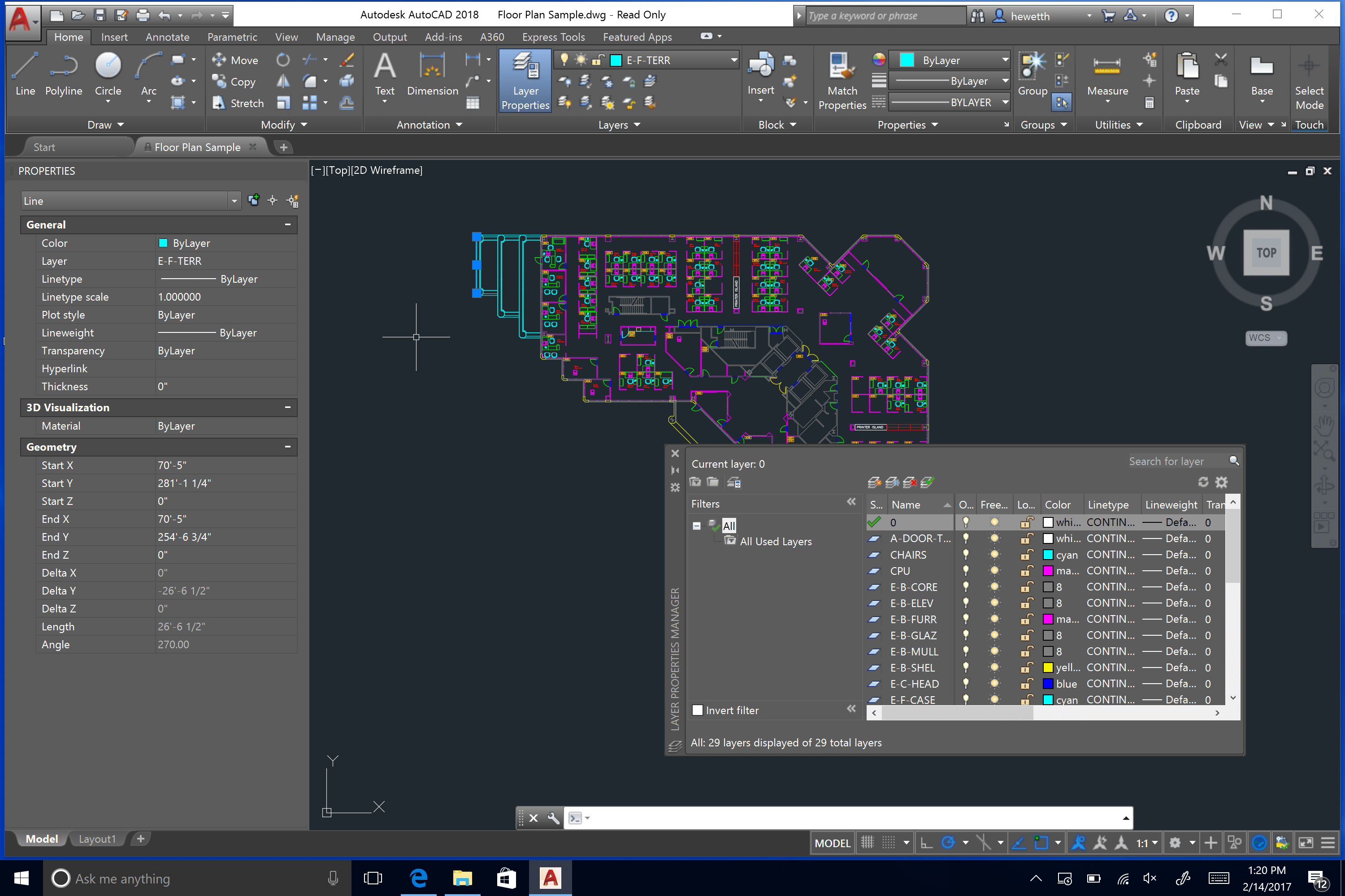 Alta resolución AutoCAD 2018