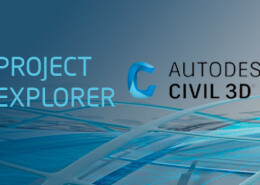 Project Explorer Civil 3D