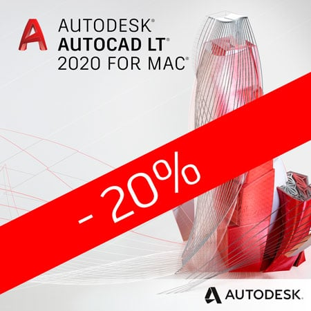 AutoCAD LT for Mac 2020 promoflash